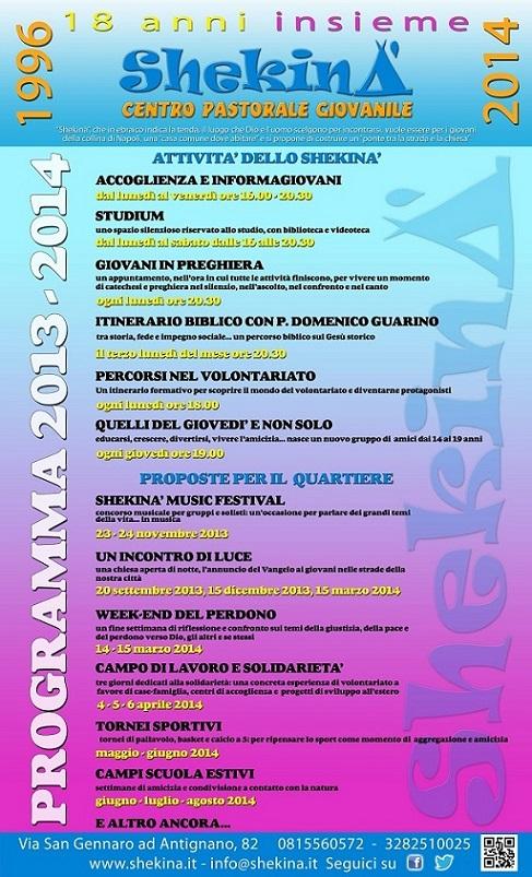 programma 2013-2014 sito